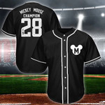 Mickey Baseball Jersey Limited 13