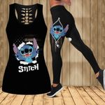 Stitch Legging and Hollow Tank Top 39