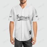 Jack Skellington Baseball Jersey 32