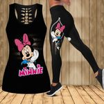 Minnie Mouse Legging and Hollow Tank Top 038