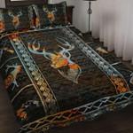 Deer Quilt Bedding Set