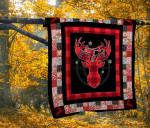 Hunting Deer Christmas Quilt