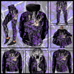 Country Girl Deer Hunting Purple Winter Clothes