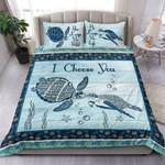I Choose You Turtle Bedding Set