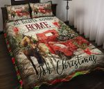 All Heart Comes Home For Christmas Horse Bedding Set