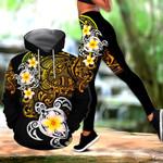 Amazing Polynesian Tattoo Turtle Hoodie and Legging