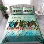 Turtle-God Says You Are Bedding Set