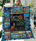 Beautiful Turtle Couple Quilt