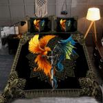 Dragon & phoenix bedding set