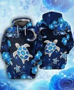 TURTLES LOVERS AND DIMONDS 3D All Over Printed Shirt, Sweatshirt, Hoodie, Bomber Jacket Size S - 5XL