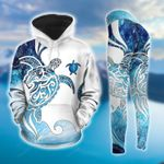 Sea Turtle NNN031202HH Premium, Unique, Ultra Soft and Warm Turtle Hoodie And Legging Set