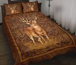 Deer Hunting Vintage Quilt Bed Set