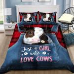 Cow Farmer Bedding Set