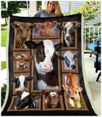Blanket - Cow - Cute Cows
