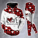 Love Someone With Autism Hoodie Set