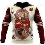 King Hearts Lion Poker 3D All Over Printed Unisex Shirts