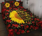In A World Full Of Roses Be a Sunflower Bedding Set