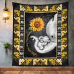Mama Elephant Sunflower Quilt
