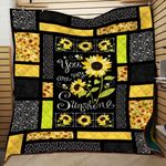 You Are My Sunshine Sunflower 2 Quilt