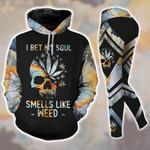 I Bet My Soul Smell Like Weed Tanktop Hoodie Set