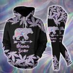 Mama Bear Hologram Hoodie Set