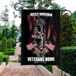Veteran 3 Garden and House Flag