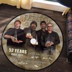Vinyl Record Rug Alabama Anniversary