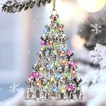 Dalmatian lovely tree gift for dalmatian lover gift for dog mom ornament