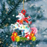 Unicorn Light Christmas Shape Ornament / VMHLMH041220