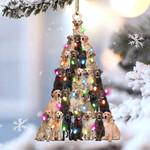 Labrador retriever lovely tree gift for labrador retriever lover gift for dog mom ornament