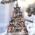 Heeler lovely tree gift for heeler lover gift for dog lover ornament