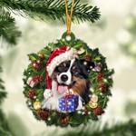 Australian Shepherd and Christmas gift for her gift for him gift for Australian Shepherd lover ornament