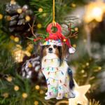 Papillon Christmas Lights Shape Ornament / DVHPQH111220