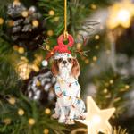 Cavalier King Charles Spaniels Christmas Lights Shape Ornament / DVHPQH111220