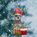 Australian Cattle Christmas Lights Shape Ornament / DVHPQH081220