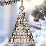 Alaskan Malamute lovely tree gift for alaskan malamute lover gift for dog lover ornament