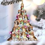 Beagle lovely tree gift for beagle lover gift for dog mom ornament