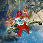 Turtle Christmas Light Shape Ornament / DKHDTN031220