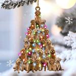 Goldendoodle lovely tree gift for goldendoodle lover gift for dog mom ornament