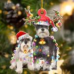 Schnauzer Shape Ornament / TNDNDD261120