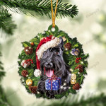 Scottish Terrier and Christmas gift for her gift for him gift for Scottish Terrier lover ornament