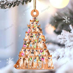 Shiba inu lovely tree gift for shiba inu lover gift for dog lover ornament