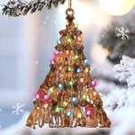 Rhodesian Ridgeback lovely tree gift for rhodesian ridgeback lover gift for dog mom ornament