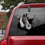 [DA0029-snf-tnt] Paint Horse Crack car Sticker cattle Lover