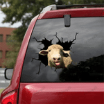 [sk1313-snf-lad] SOUTHDOWN SHEEP Crack Sticker cattle Lover