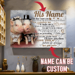 [HA0079-snf-tpa] Pig poster customize cattle lover