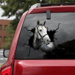 [DA0042-snf-tnt] Thoroughbred Crack car Sticker Cattle Lover