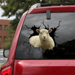 [sk1410-snf-lad] English sheep Crack Sticker cattle Lover
