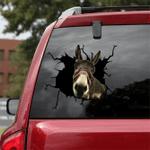 [sk1215-snf-lad] Donkey Crack Sticker cattle Lover
