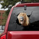 [sk1571-snf-tnt] Pony Horse Crack Sticker Cattle Lover
